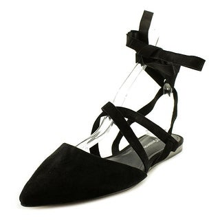 BCBGeneration Noel Women  Pointed Toe Suede Black Flats