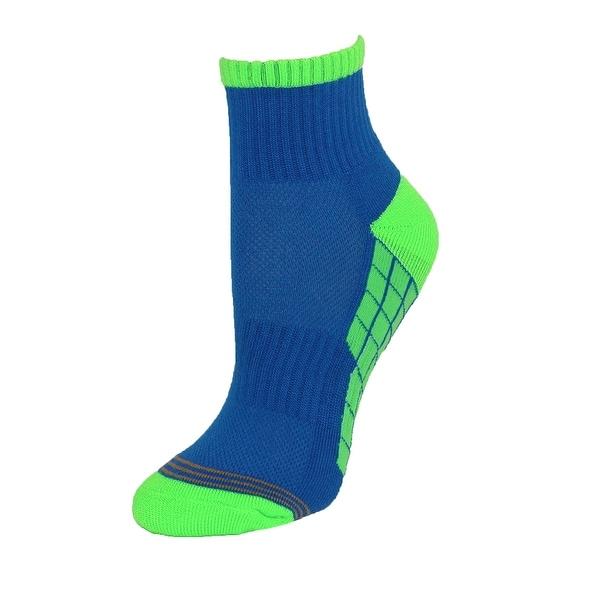 Gold Toe Boys' Ultra Tec Quarter Socks (Pack of 6)