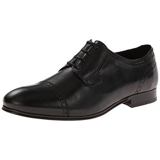 H by Hudson Mens Sheldon Leather Formal Oxfords - 41 medium (d)