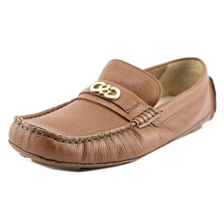 Cole Haan Shelby CH Logo II Women C Round Toe Leather Loafer