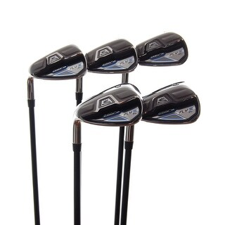 New Cobra Fly-Z XL Irons 7-PW,GW R-Flex Graphite 65g LEFT HANDED