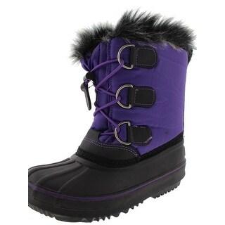 Western Chief Girls Arcterra Ex Snow Boots Contrast Trim Water Resistant