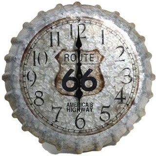 Taylor 98270 14.2 Metal Clock Rt 66 Cap