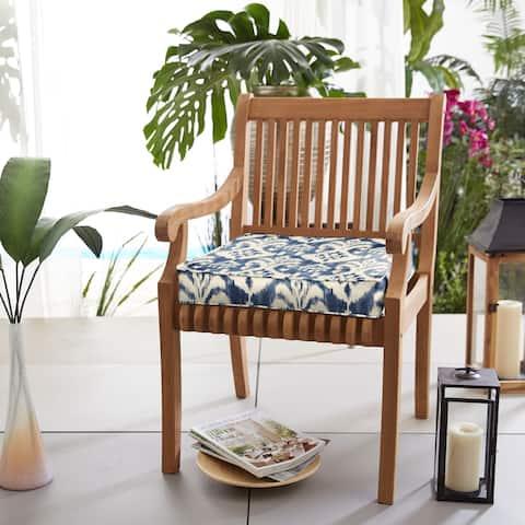 Rainford II Indigo/ Cream Indoor/ Outdoor Corded Cushion