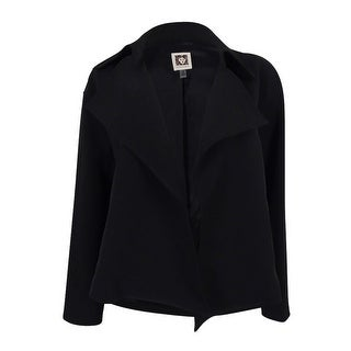Anne Klein Women's Draped Open Front Blazer
