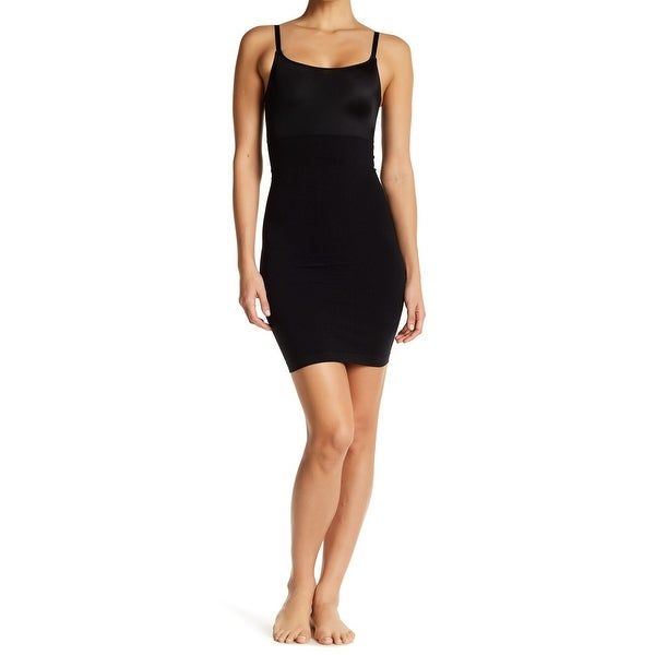 7fd3c3e9a60bf Skinny Girl Black Womens Medium M Seamless Microfiber Slip Shaper ...