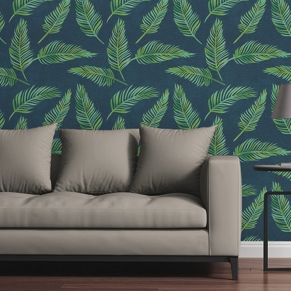 Circle Art Group Lazy Palms Removable Wallpaper Tile. Opens flyout.