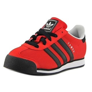 Adidas Samoa C Round Toe Synthetic Sneakers