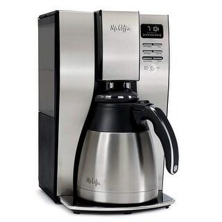 Mr. Coffee Optimal Brew Thermal Coffee Maker, 10 Cups, Stainless Steel