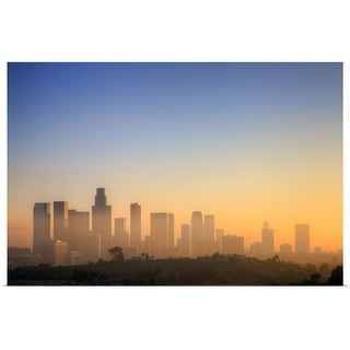 """Los Angeles Sunset."" Poster Print"