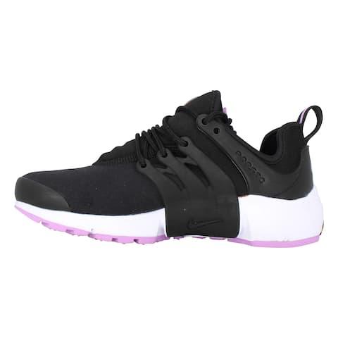 Nike Air Presto Black/Black-Violet Shock-White DM8684-001 Women's
