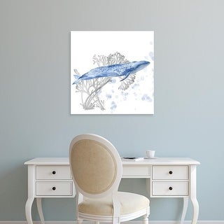 Easy Art Prints Melissa Wang's 'Flying Dreams I' Premium Canvas Art