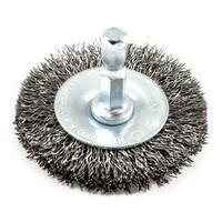 "Forney Industries 72727 Coarse Wire Crimp Wheel Brush,  2"""
