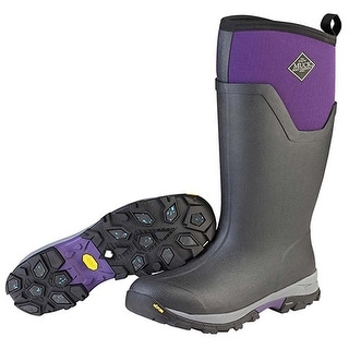 Muck Boot Women's Arctic Ice Tall Black/Parachute Purple Size 5 Winter Boot