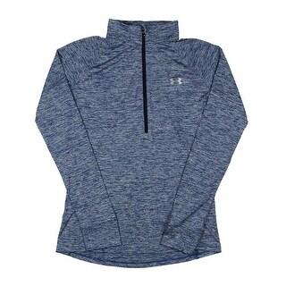 Under Armour Womens 1/4 Zip Pullover Heat Gear Heathered