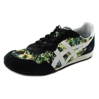 Onitsuka Tiger by Asics Serrano Youth Round Toe Suede Black Sneakers