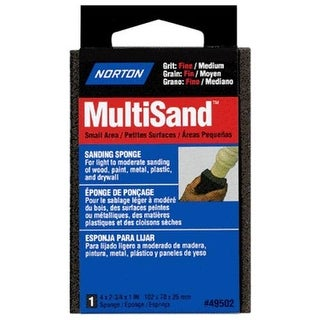 Norton 49502 Multisand Sanding Sponge Fine/Medium