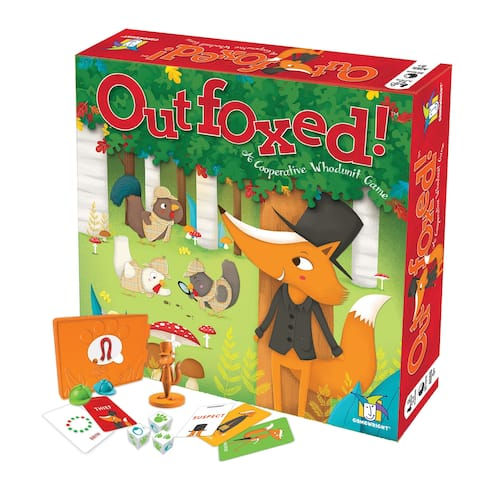 Outfoxed: A Cooperative Whoodunit Game - Multi