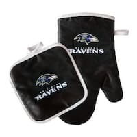 Baltimore Ravens Oven Mitt and Pot Holder