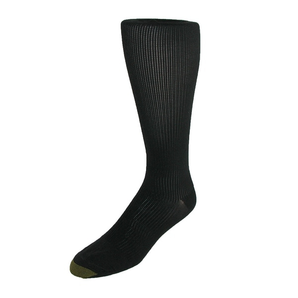 3 Pack New Gold Toe Men/'s Firm Support Compression Socks
