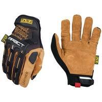 Mechanix Wear LMP-75-009 Leather M-Pact Gloves, Black & Tan, Size 9, Medium