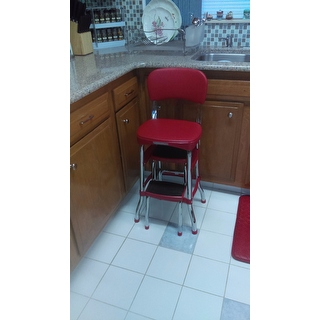 Cosco Retro Counter Chair Step Stool 15388206