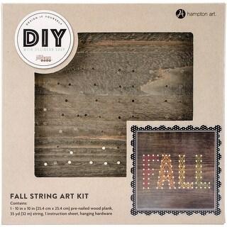 "String Art Kit 10""X10""X.5""-Fall - Fall"