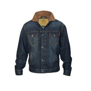 StS Ranchwear Western Jacket Mens Jumper Snap Medium Denim