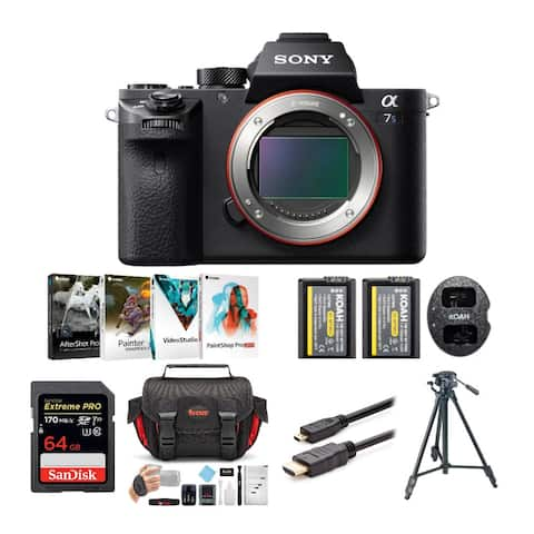 Sony Alpha a7SII Mirrorless Camera (Body) with Corel Suite Bundle