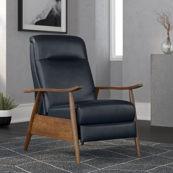 Sienna Wood Arm Push Back Recliner by Greyson Living. Opens flyout.