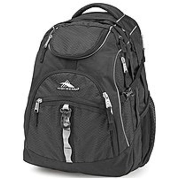 High Sierra 89399-1041 Access Backpack for 17-inch Laptop - Black (Refurbished)