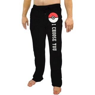 Pokemon Mens Pokeball I Choose You Sleep Lounge Pants