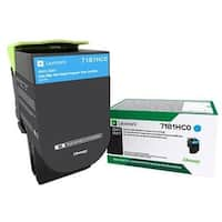 Lexmark  CS417DN High Yield Return Program Toner Cartridge - Cyan