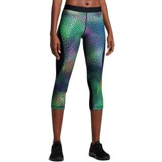 Nike Womens Athletic Leggings Hypercool Printed