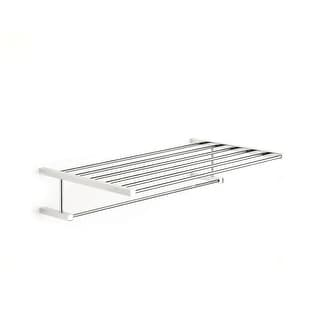 "WS Bath Collections Iceberg 1090 20"" Brass Towel Rack from the Iceberg Collection"