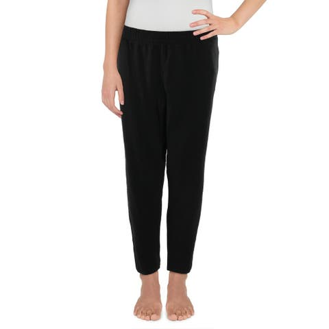 Joe's Jeans Womens Lounge Pants Comfy Sleepwear - Black