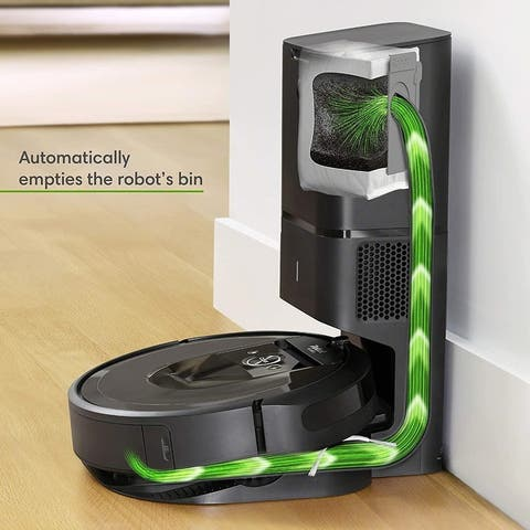iRobot Roomba i7 Plus Wi-Fi Connected Vacuum with Automatic Disposal