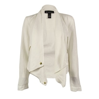 INC International Concepts Women's 100% Linen Jacket - s