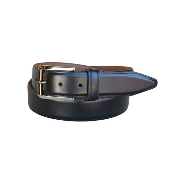 Lejon Western Belt Mens Holden Leather Tapered Black