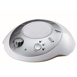 Homedics Ss-2000f Sound Spa Relaxation Machine with 6 Nature Sounds, Silver
