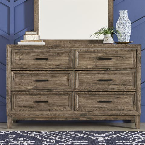 Ridgecrest Cobblestone 6-drawer Dresser