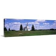 Premium Thick-Wrap Canvas entitled South Dakota, Church