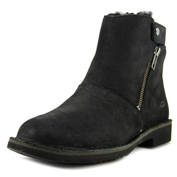 Ugg Australia Kayel Women Round Toe Leather Black Bootie