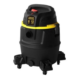 Stanley Fatmax SL18501P-12A Wet Dry Vacuum 12 Gallon 6 Peak HP Poly Black