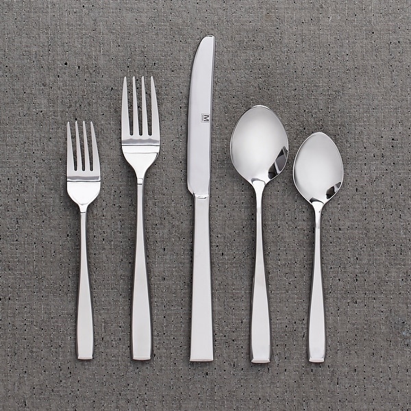 "Flatware Stainless Steel 40PC Set Nice - 9"" x 0'5"". Opens flyout."
