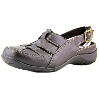 Easy Street Sterling WW Round Toe Leather Fisherman Sandal