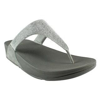 FitFlop Womens Slinky Rokkit Toe-Post T-Strap Sandals