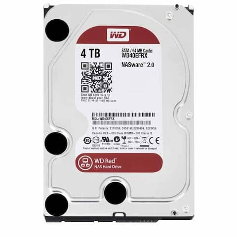 Western Digital WD40EFRX Red IntelliPower 4TB SATA 6GB 3.5 Inch HDD Hard Drive