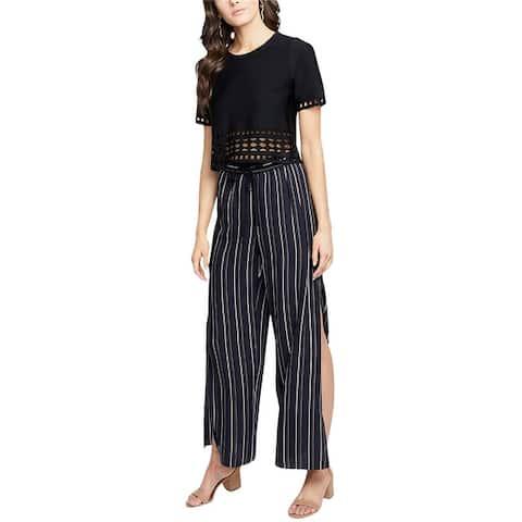 Rachel Roy Womens Side Slit Leg Dress Pants