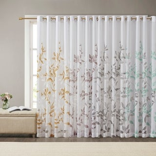 """Link to The Gray Barn Yturria Grey Printed Curtain Panel - 84"""" Panel Similar Items in Curtains & Drapes"""